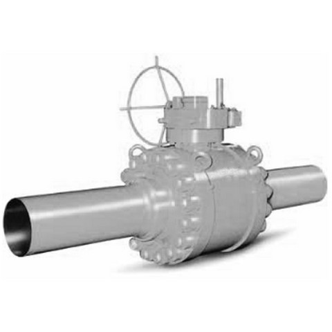 Trunnion Mounted Ball Valves – Bolted Body, Weld End, ANSI 150 - Trunnion Mounted Ball Valves