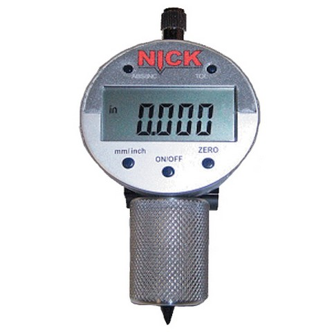 NICK Pit Depth Gauge - PE Test Equipment, Caps, & Plugs